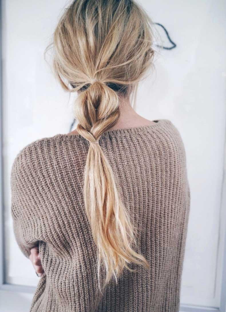 Le-Fashion-Blog-Hair-Inspiration-Half-And-Half-Textured-Braided-Ponytail-Tan-Ribbed-Sweater-Via-Camilla-Pihl