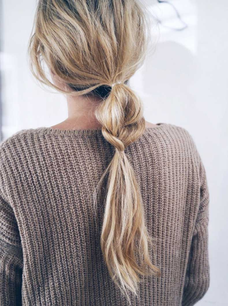 Le-Fashion-Blog-Hair-Inspiration-Half-And-Half-Wavy-Braided-Ponytail-Brown-Textured-Knit-Via-Camilla-Pihl