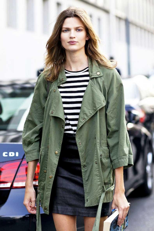 Le-Fashion-Blog-Model-Off-Duty-Milan-Street-Style-Bette-Franke-Green-Army-Jacket-Black-Leather-Mini-Skirt