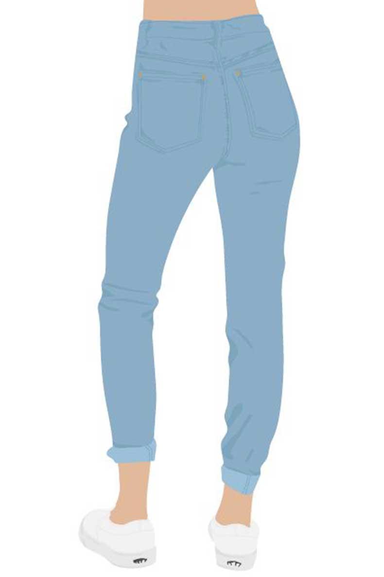 Los Jeans Mas Favorecedores Segun La Forma De Tu Trasero Cut Paste Blog De Moda