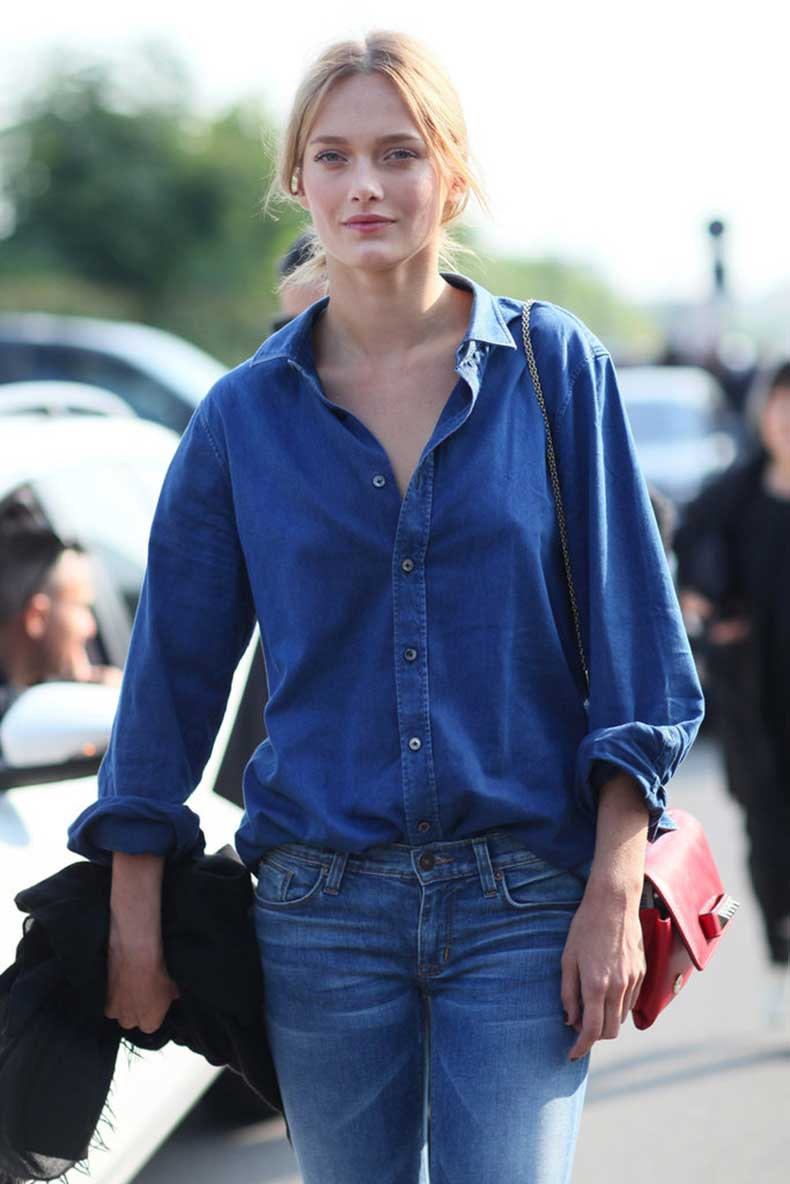 la-modella-mafia-karmen-pedaru-model-off-duty-street-style-denim-on-denim-trend