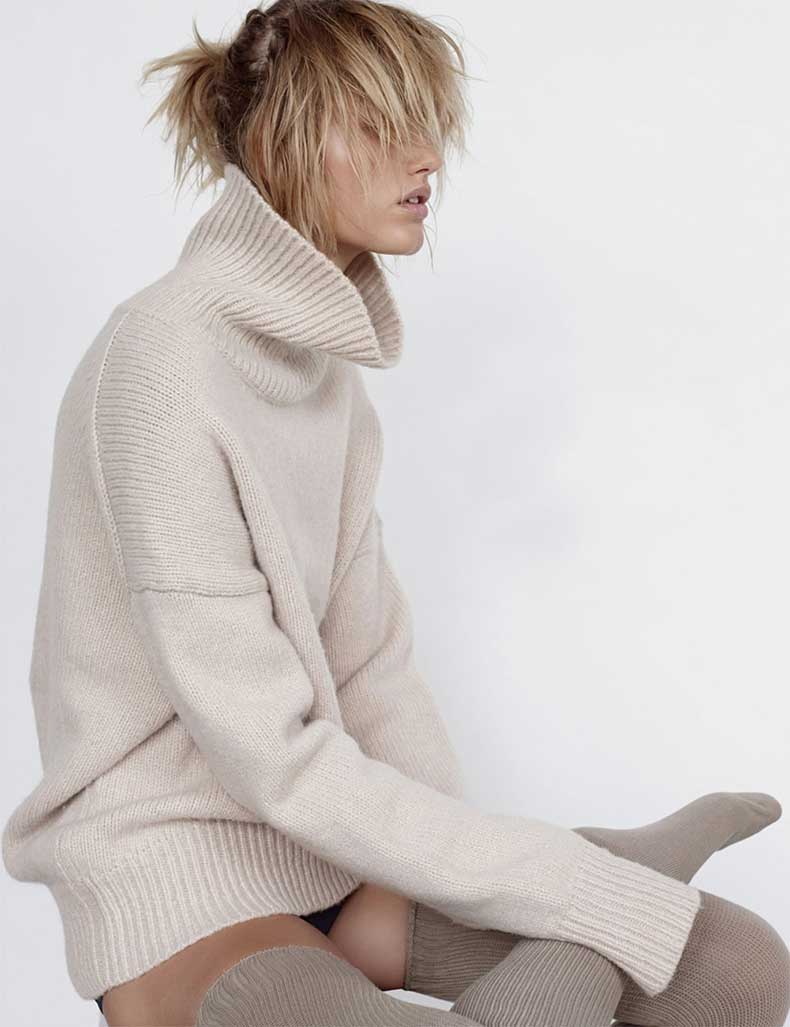 louise-mikkelsen-by-stephen-ward-for-elle-australia-february-2015-Oracle-Fox-winter-knit-editorial-1