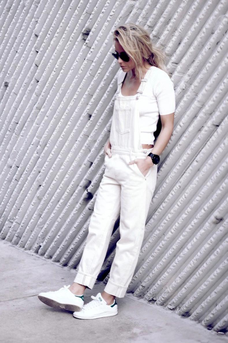12-Le-Fashion-Blog-17-Ways-To-Wear-White-Overalls-Cropped-White-Tee-Adidas-Sneakers-Via-Blogger-Happily-Grey