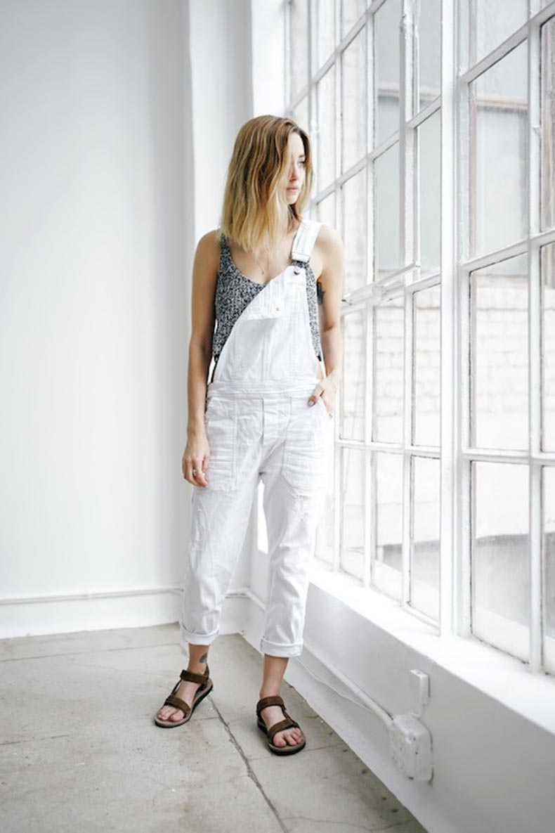 2-Le-Fashion-Blog-17-Ways-To-Wear-White-Overalls-Grey-Knit-Tank-Tank-Teva-Sandals-Via-Blogger-Jess-Hannah