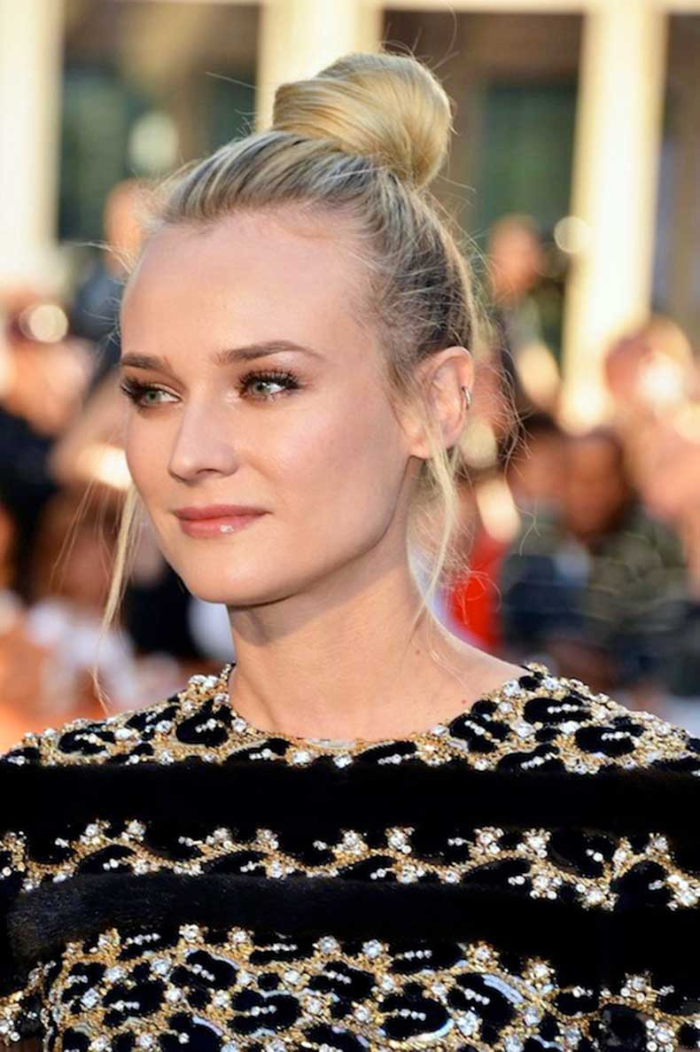 4-Le-Fashion-Blog-15-Crazy-Cool-Top-Knots-Bun-Up-Do-Blonde-Hair-Hairstyle-Inspiration-Diane-Kruger-Harpers-Bazaar