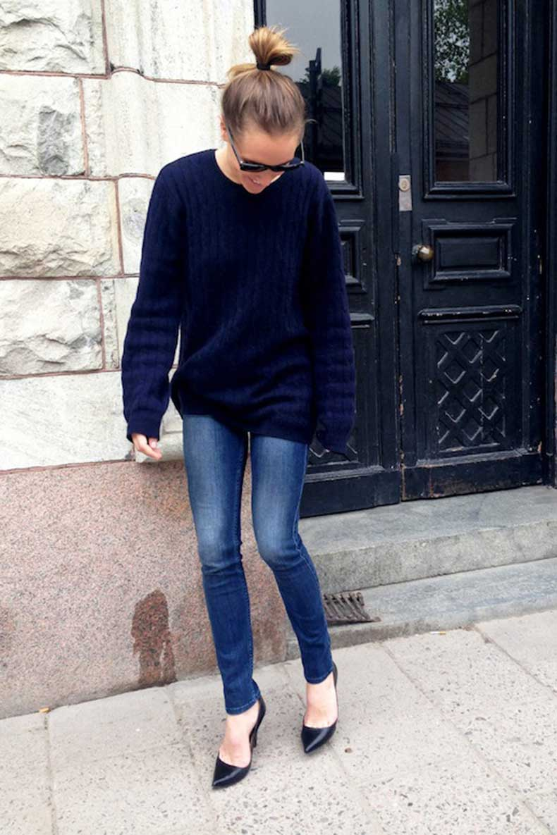 8-Le-Fashion-Blog-15-Crazy-Cool-Top-Knots-Bun-Up-Do-Hair-Hairstyle-Inspiration-Skinny-Jeans-Caroline-Sandstrom