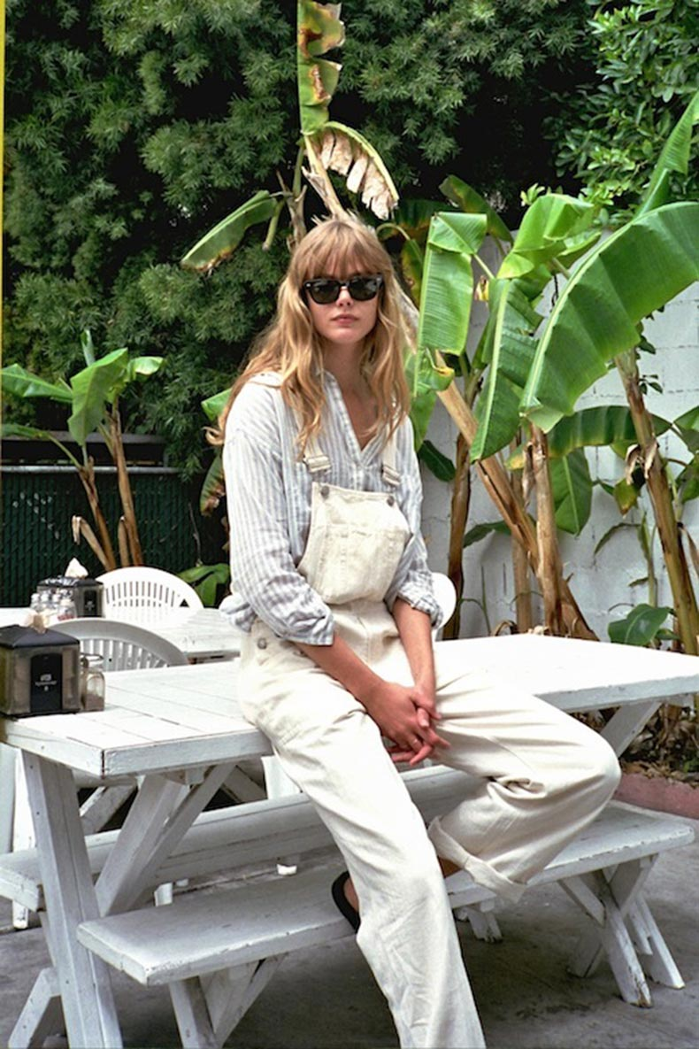 8-Le-Fashion-Blog-17-Ways-To-Wear-White-Overalls-Model-Frida-Gustavsson-Striped-Button-Down-Via-Siggy-Bodolai