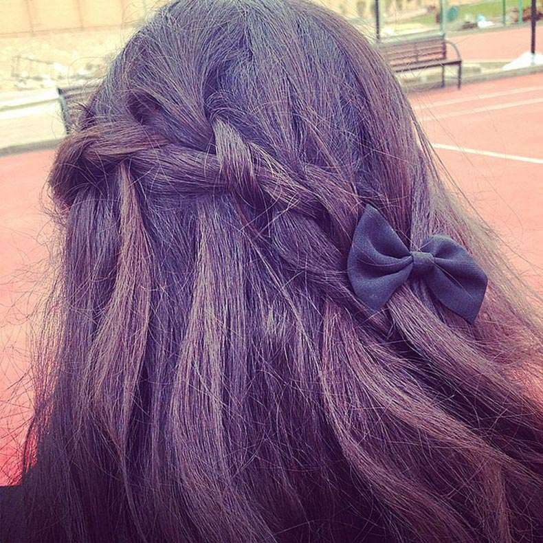 Bow-Accented-Braid