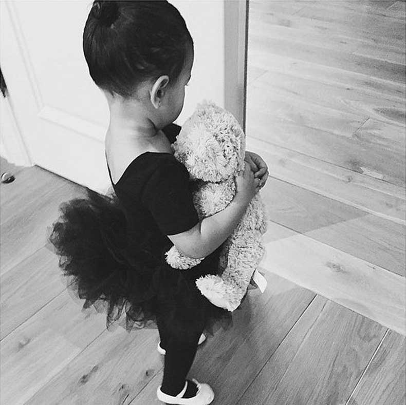 North-Showed-Off-Her-Ballerina-Style