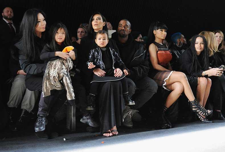 She-Sat-Front-Row-Kim-Kanye-Nicki-Minaj