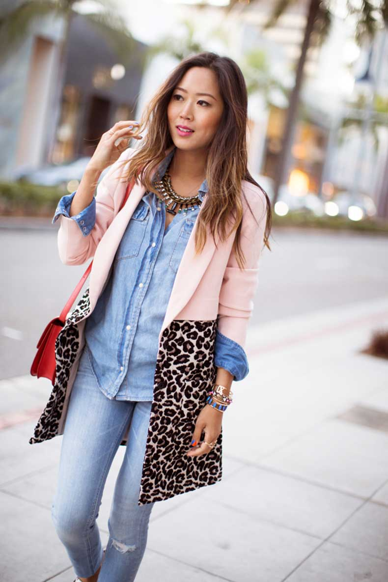 aimee_song_pink_coat_denim_on_denim