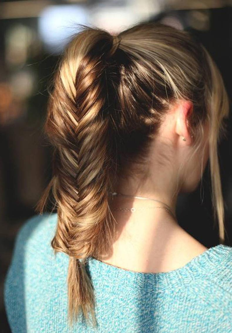 braid-cute-ponytail-hairstyles