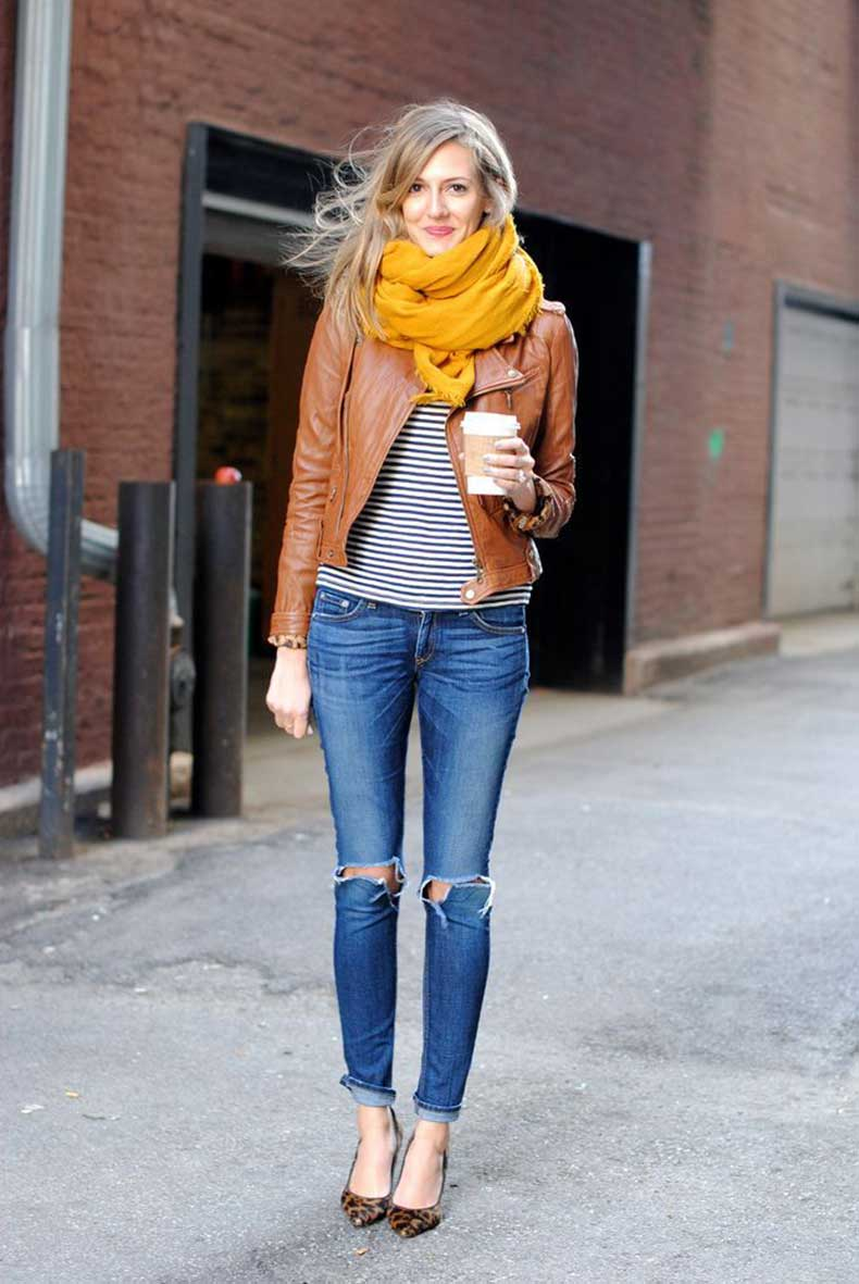 bright-yellow-infinity-scarf