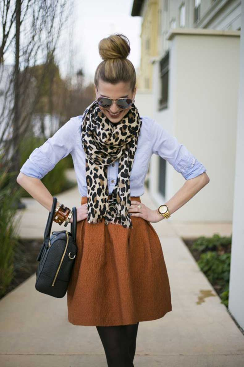cute-animal-print-scarf