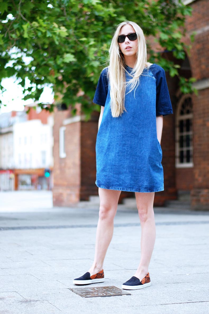 denim-dress-cute