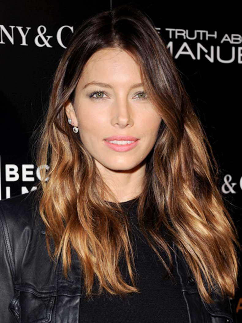 fair-skin-ombre-brown-hair-jessica-biel