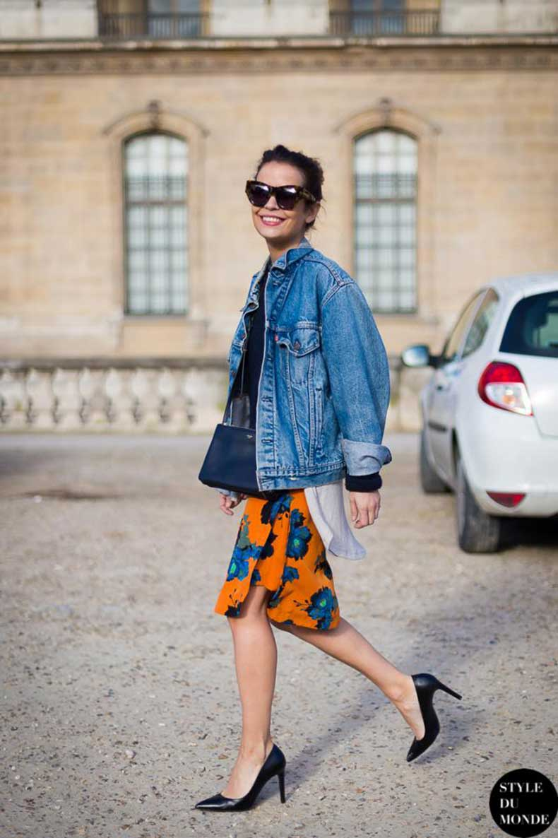 le-fashion-blog-street-style-denim-jacket-bright-floral-skirt-via-style-du-monde