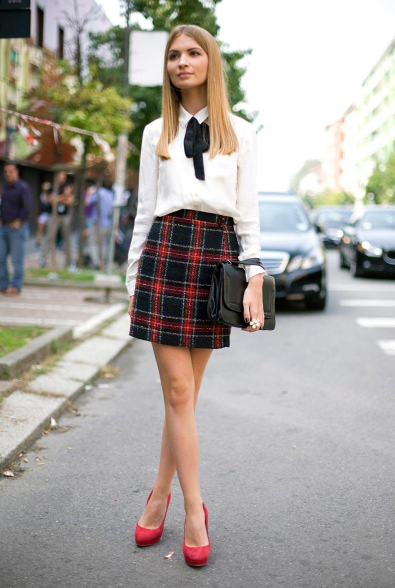 milan-plaid-skirt