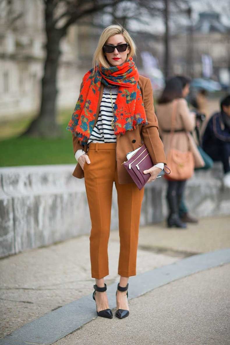 printed-orange-scarf