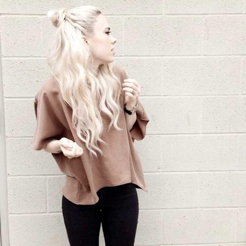 12-Le-Fashion-Blog-20-Inspiring-Half-Up-Top-Knot-Hairstyles-Long-Bleach-Blonde-Hair-Bun-Via-Sundays-Pearl