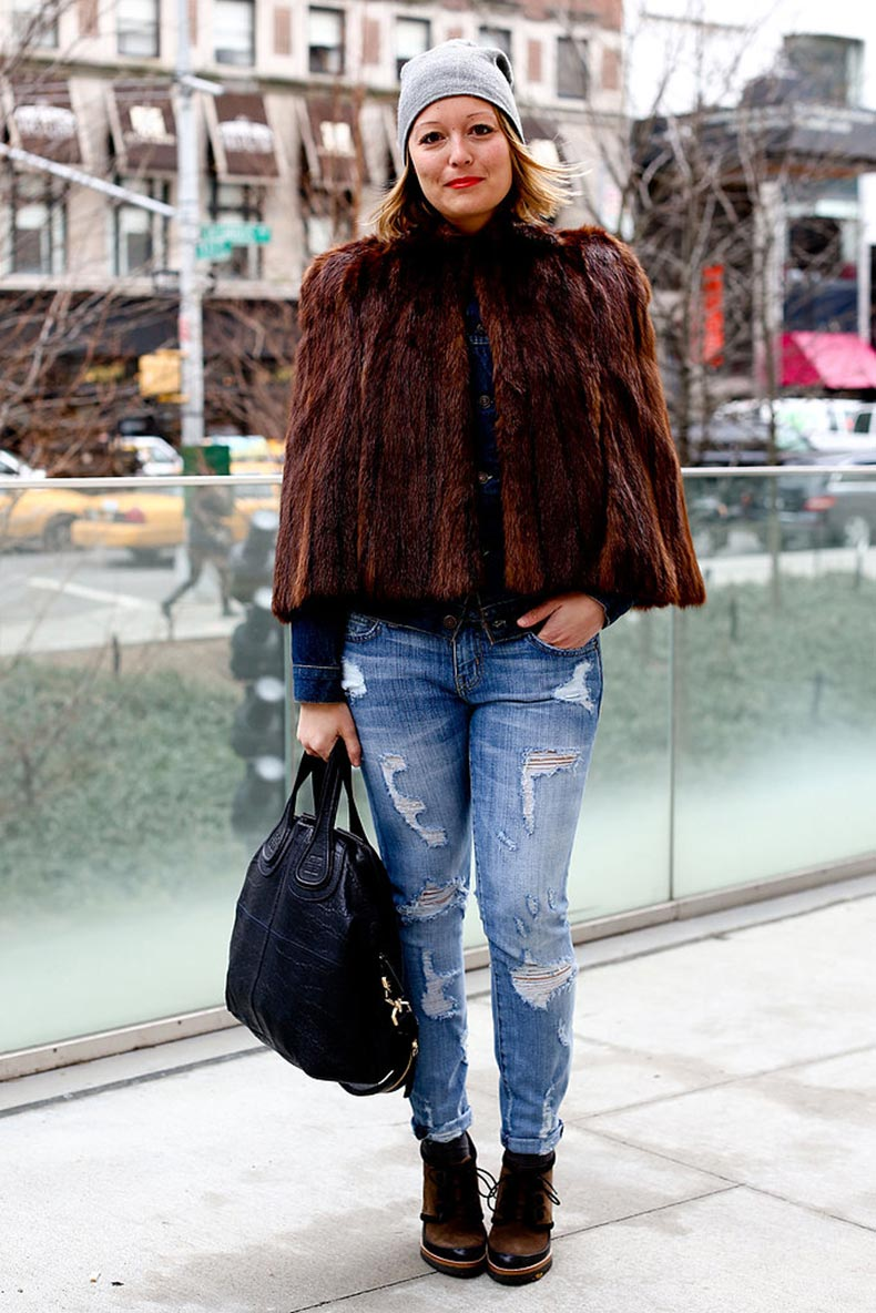 Boyfriend-denim-never-looked-so-luxe-thanks-fur-jacket
