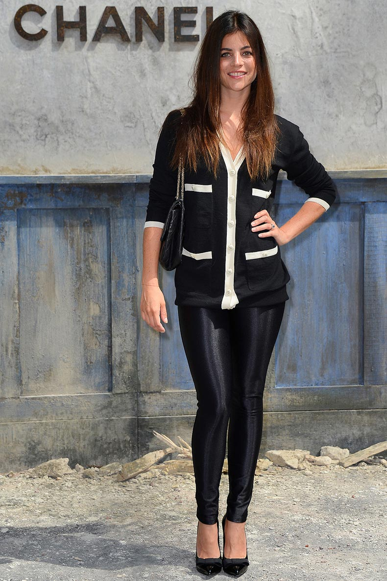Julia-Restoin-Roitfeld-skinny-black-leggings-black-white