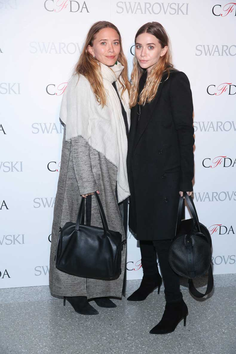 Twinning-combo-Cozy-coats-were-style-choice-2015-CFDA