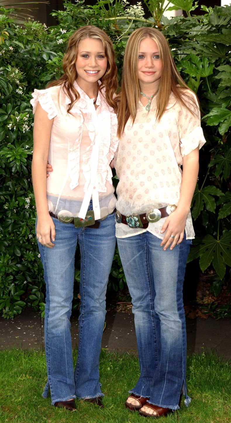 Twinning-combo-Mary-Kate-Ashley-styled-washed-denim