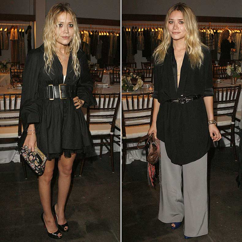 Twinning-combo-sisters-donned-draping-black-separates-LA