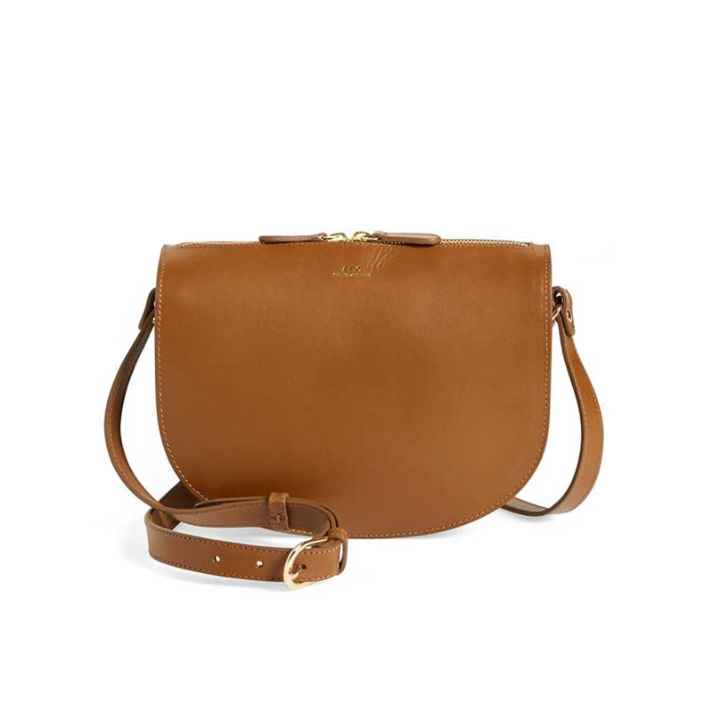 apc-brown-leather-bag