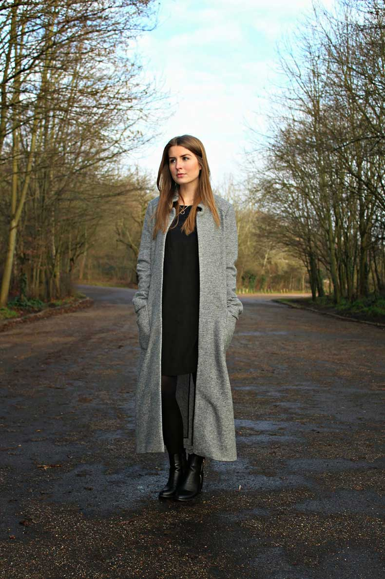 outfit-dark-grey-zara-dress-coat