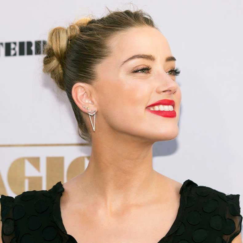 Amber-Heard-Braid-Bun-Red-Lip-600x600