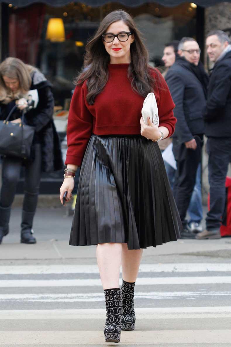 Ladylike-little-edge-thanks-leather-pleats-studded