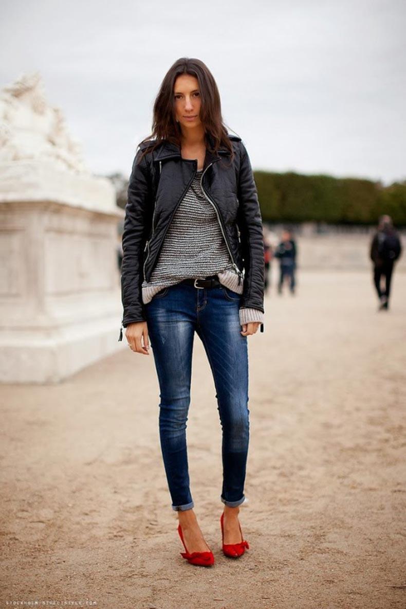 Street-Chic-Looks-Cuffed-Jeans-11-600x899