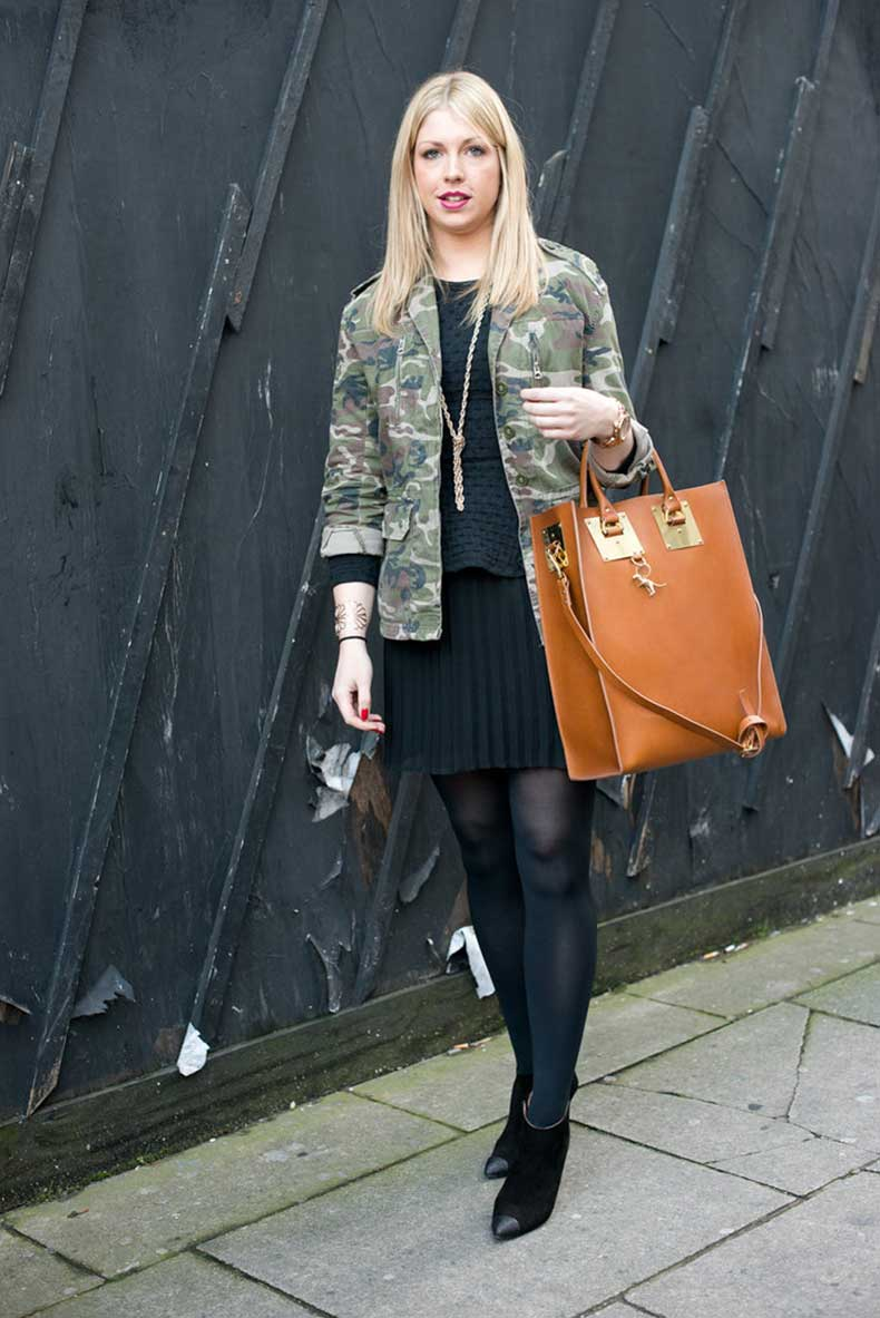 bit-camo-juxtaposed-pretty-pleats-while-leather-tote-anchored