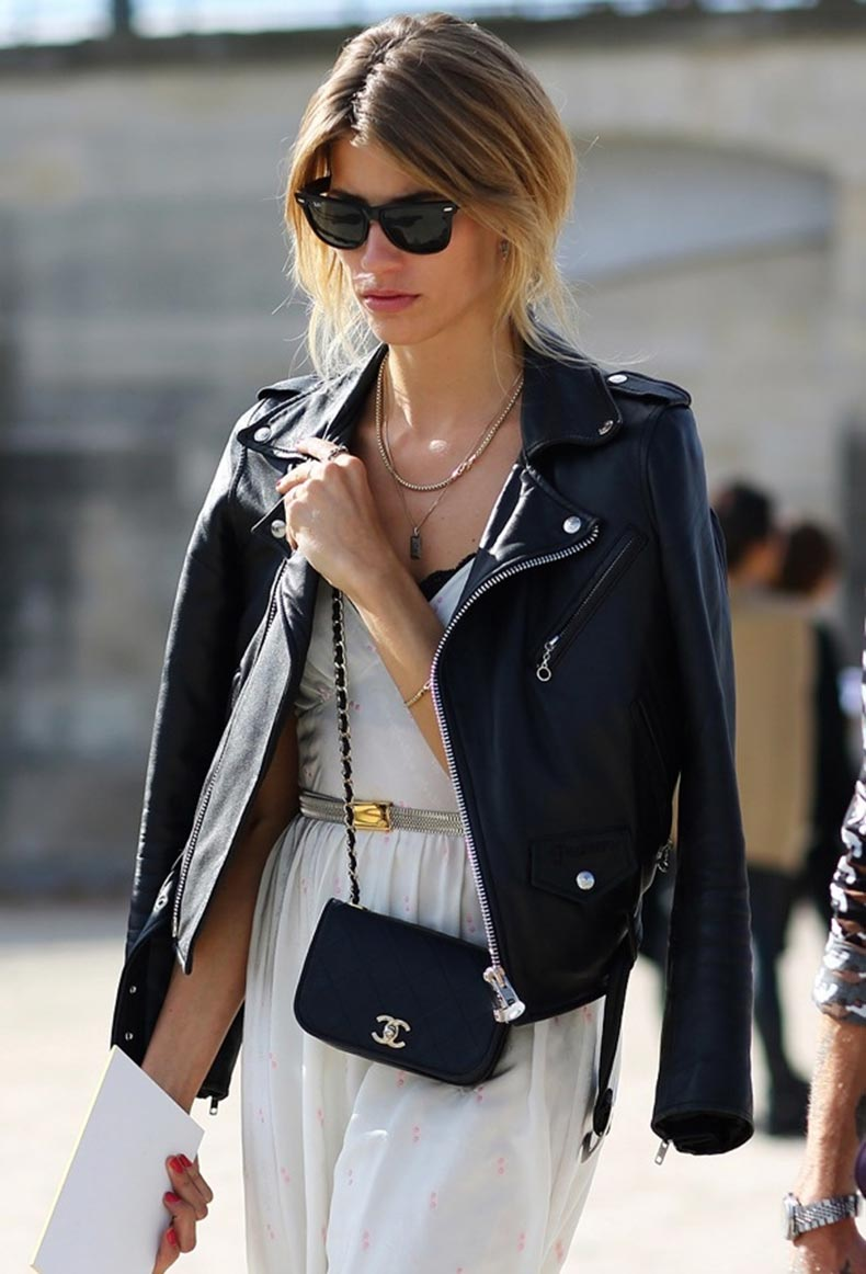 black-leather-jacket-fashion-street-style-chanel-handbag