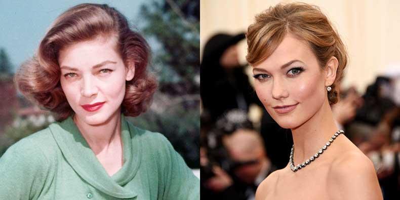 elle-celebrity-doppelgangers-bacall-kloss