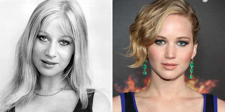 elle-celebrity-doppelgangers-mirren-lawrence