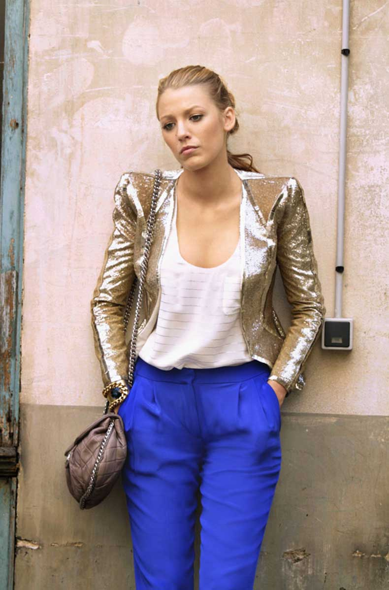 gossip-girl-season-4-serena-gold-balmain-jacket-bright-blue-pants-940ls092210