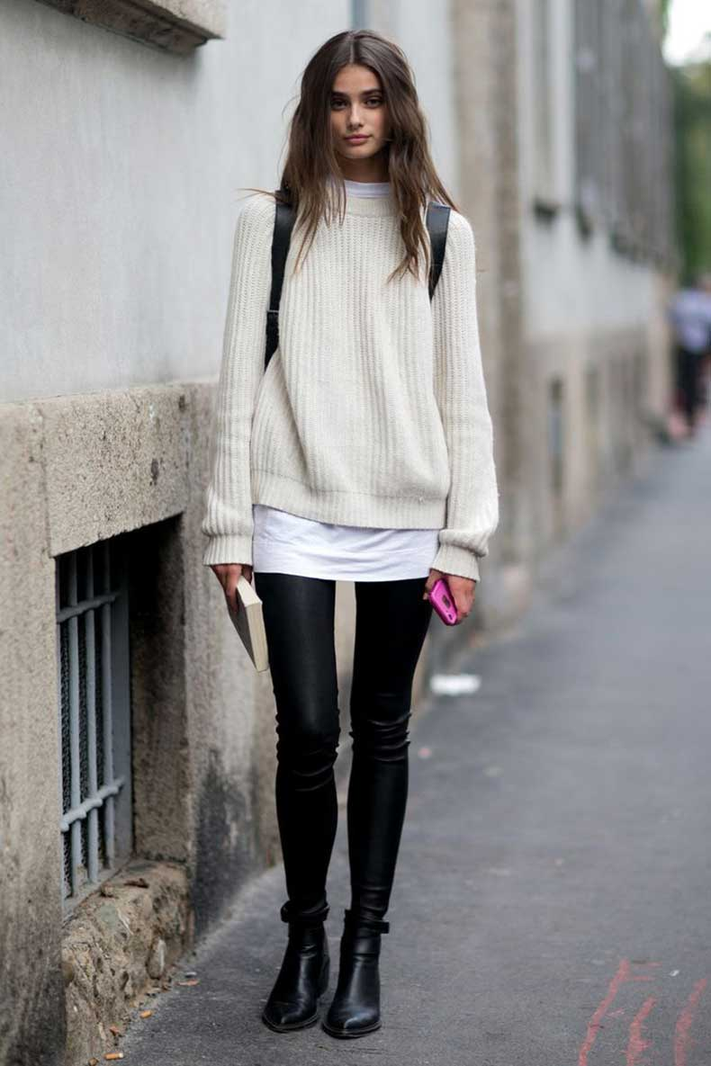 leather-leggings-and-knit-jumper