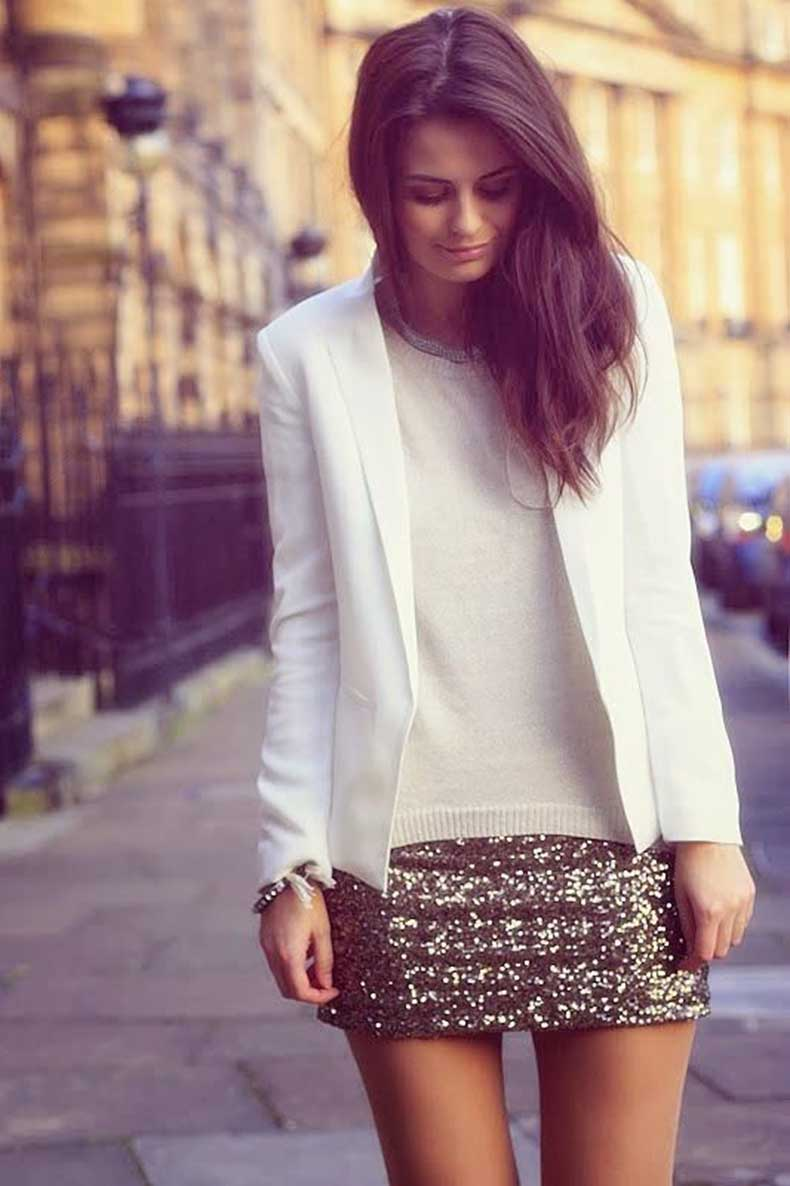 white-top-and-sequin-skirt