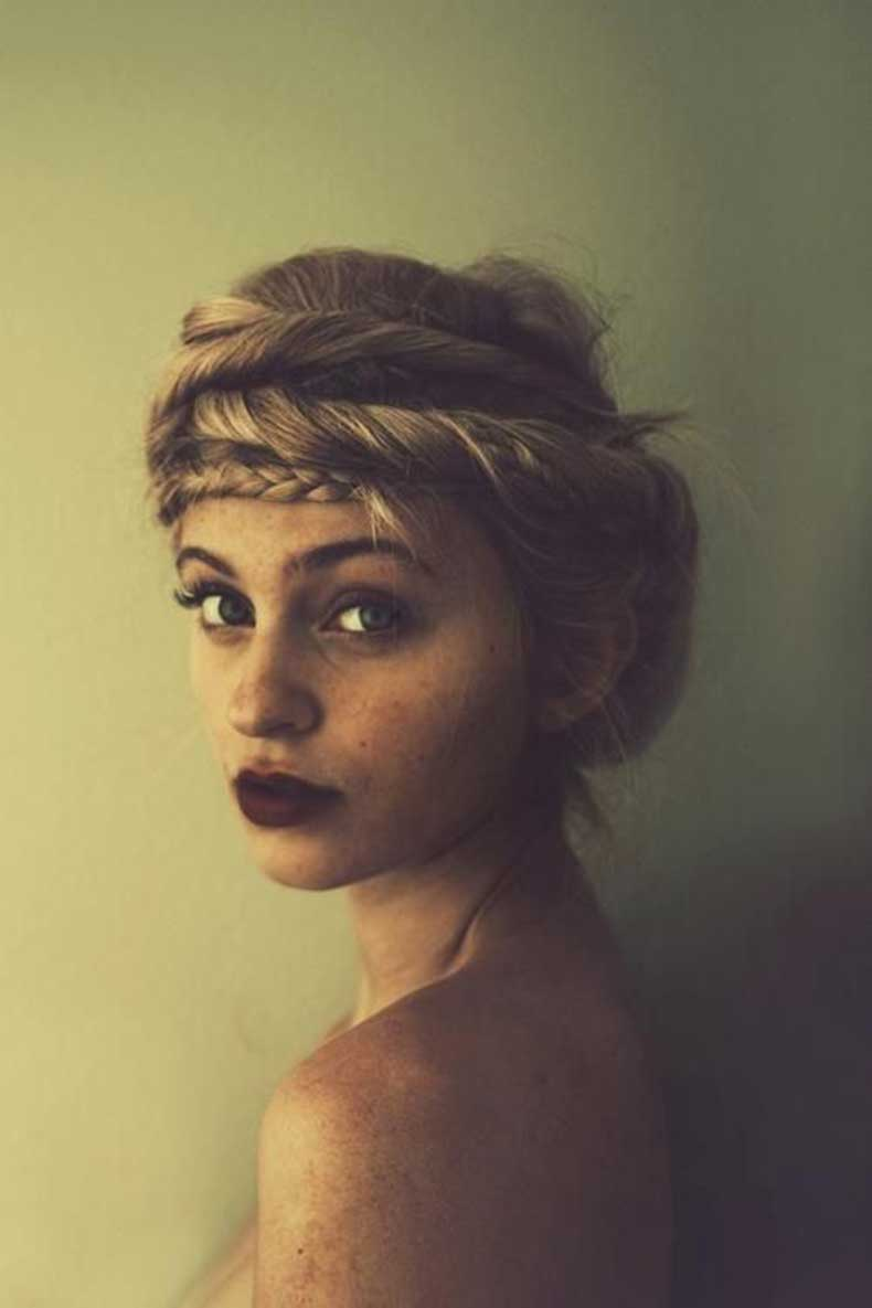 Boho-Twisted-Hairstyle-with-Braided-Crown