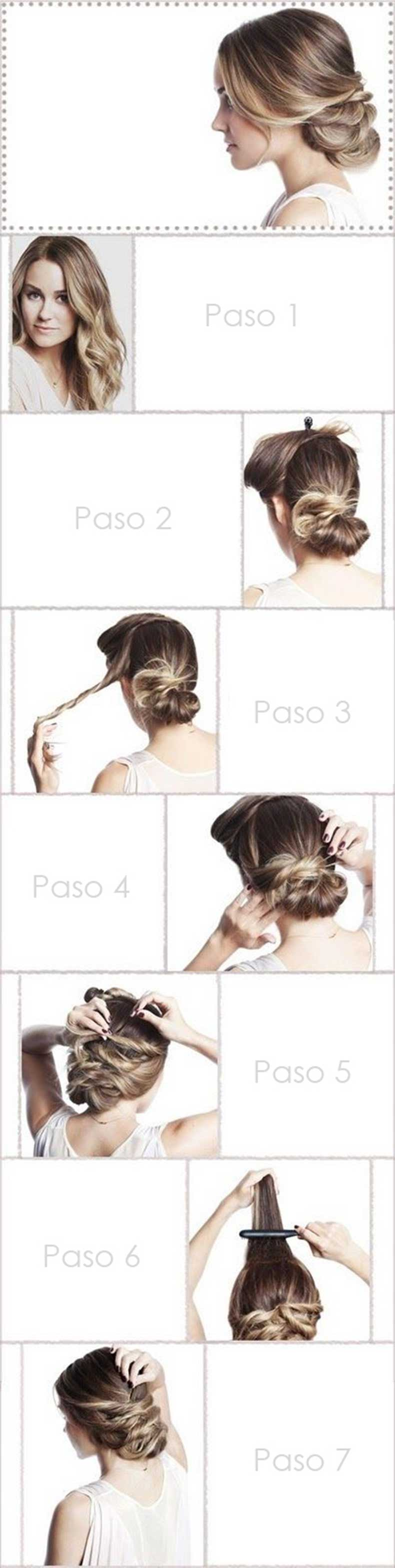 Boho-Twisted-Updo-Hairstyle-Tutorial