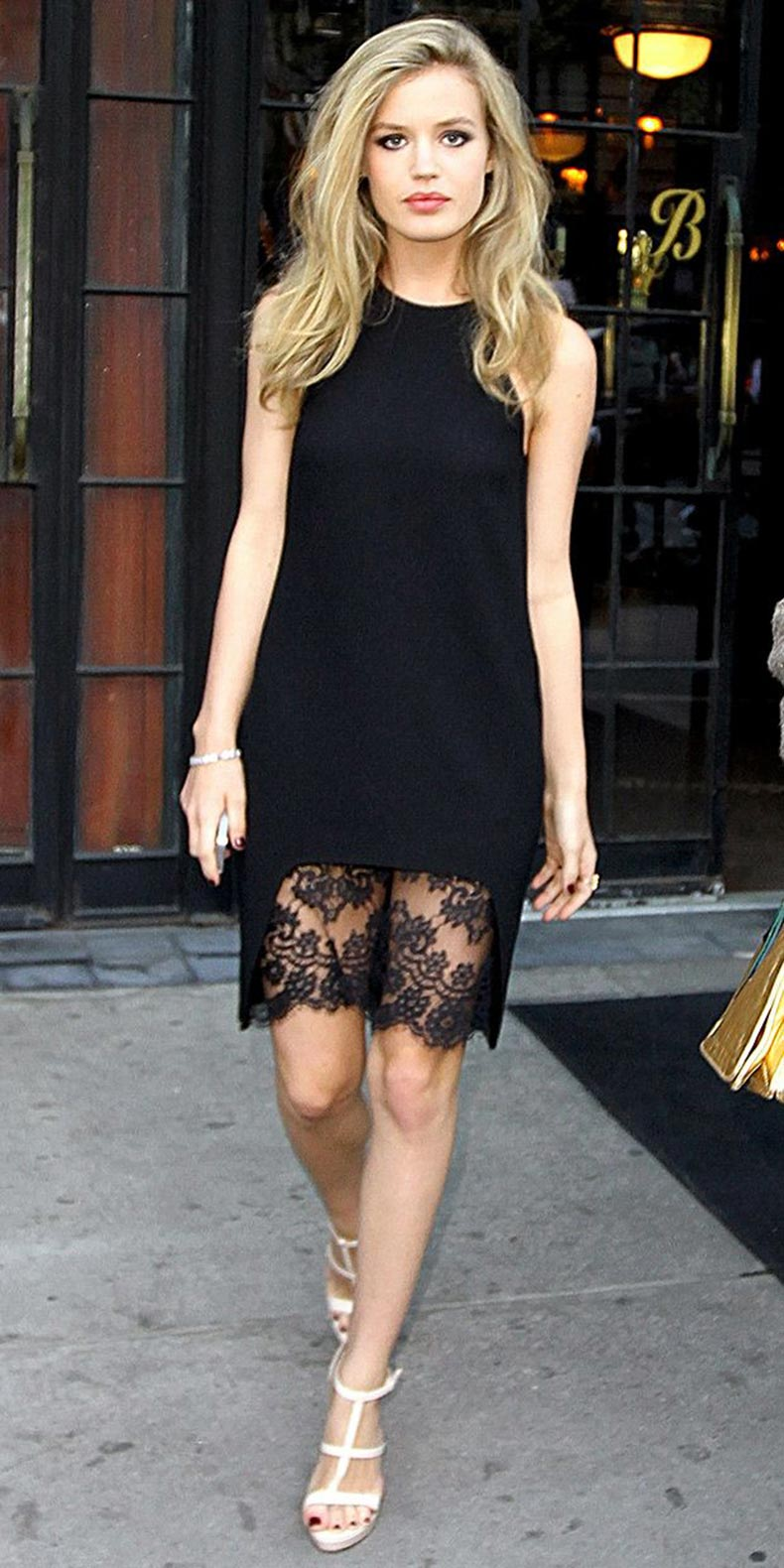 Georgia-May-Jagger-black-dress