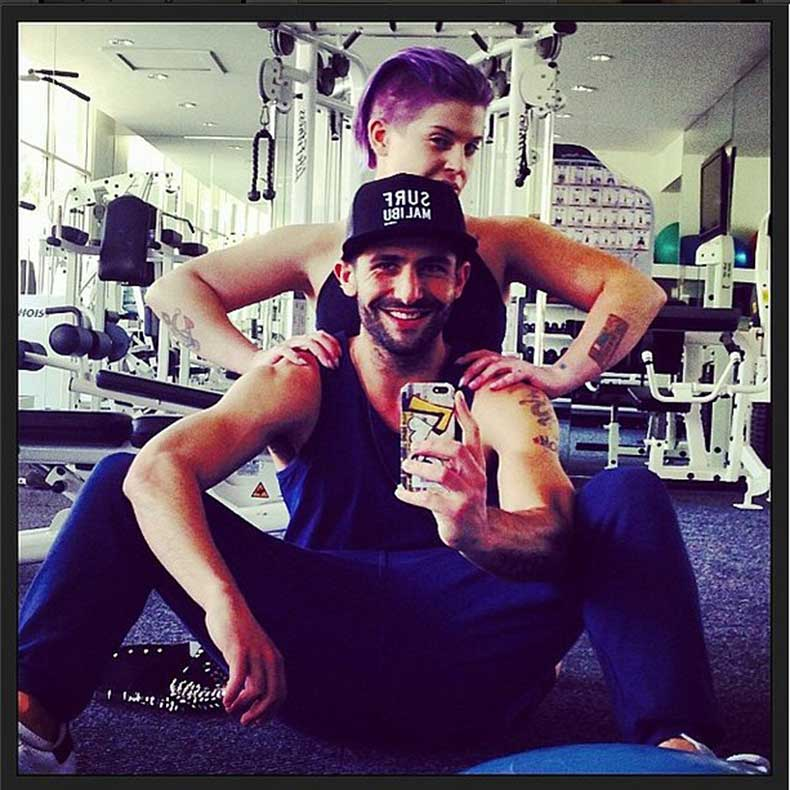 Kelly-Osbourne-fit-workout-trainer-Fred-Khorshidi