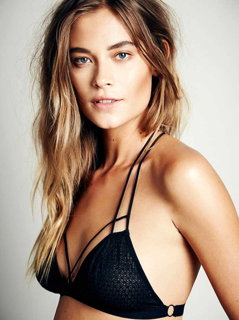 Le-Fashion-Blog-Bold-Brows-Wavy-Effortless-Hair-Sexy-Free-People-Fish-In-The-Sea-Strappy-Bra