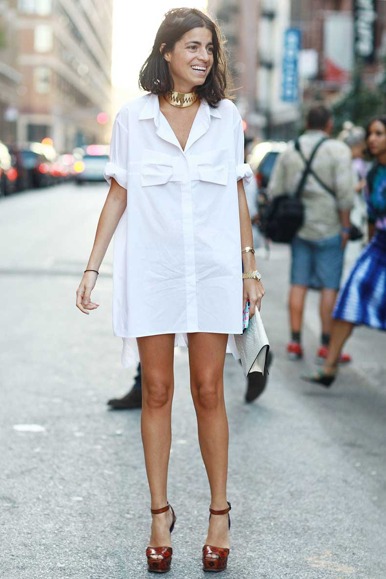 Leandra-Medine-channeled-Tom-Cruise-Risky-Business-days-white