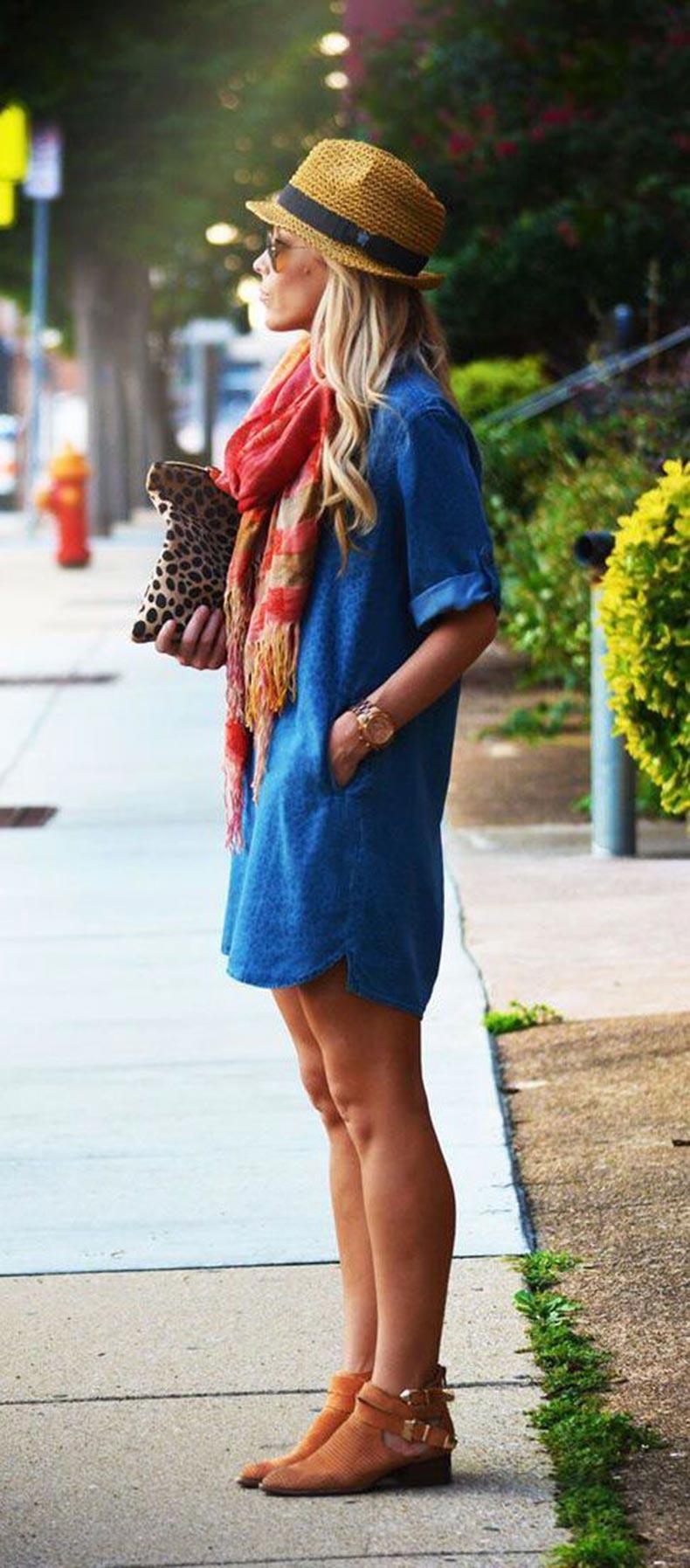 Shirtdresses-Street-Style-12