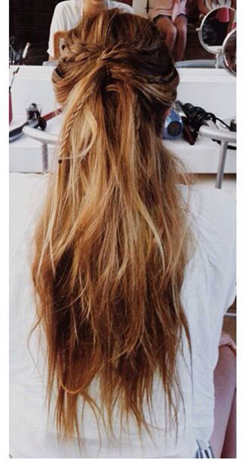 Twisted-Half-updo-Hairstyle-for-Long-Hair