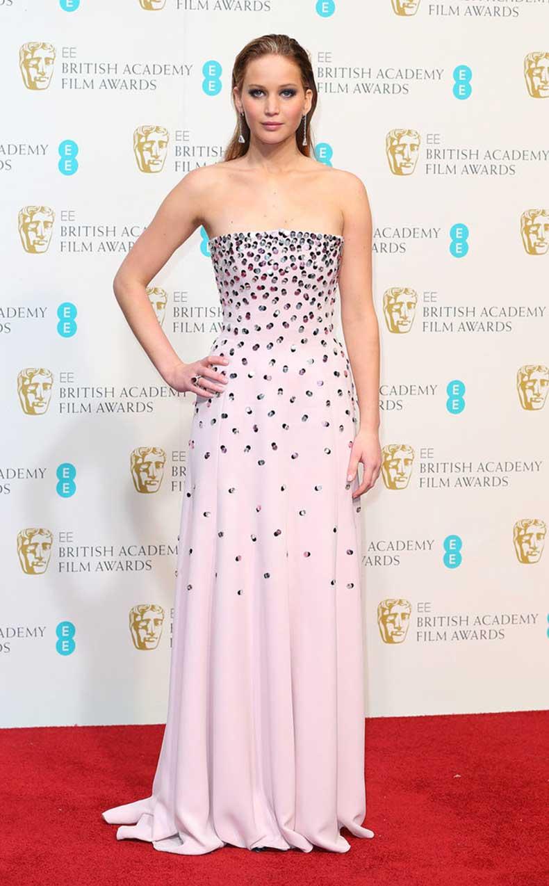 We-loved-cascading-embellishment-Jennifer-Lawrence-soft-pink